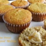"Paleo Sweet ""Cornbread"" Muffins. Grain free and more. No corn actually used in this recipe. Cassidy says: ""They have become a staple in my house because not only are they tasty and easy to make, but they can be served as a side with almost any meal AND be served as dessert with dairy-free butter or coconut oil and maple syrup drizzled on the top---it's a ""win win""!"" [featured on GlutenFreeEasily.com]"