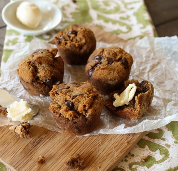 Paleo Sweet Potato Muffins from Tessa Simpson The Domestic Diva