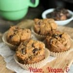 Paleo Sweet Potato Muffins from Tessa, The Domestic Diva. One of many fabulous Gluten-Free Mother's Day Brunch Recipes!