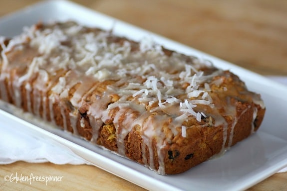 Pumpkin Cherry Sunrise Bread Gluten Free Spinner