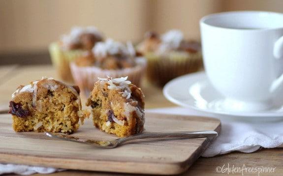 Pumpkin Sunrise Muffins Gluten Free Spinner