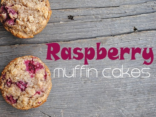 Gluten-Free Raspberry Muffin Cakes from She Let Them Eat Cake. Part of March Muffin Madness. [featured on GlutenFreeEasily.com]