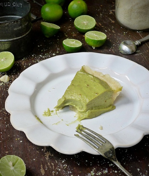 Raw Key Lime Pie from In the Kitchen with Amy Jo