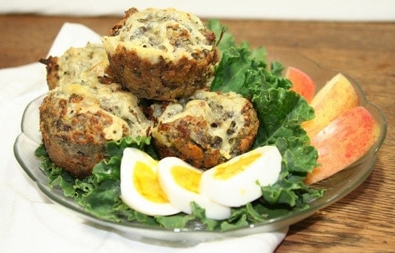 Savory Leek and Potato Muffins from Kickshaws Dowtown Market in Fredericksburg VA. One of many fabulous Gluten-Free Mother's Day Brunch Recipes!