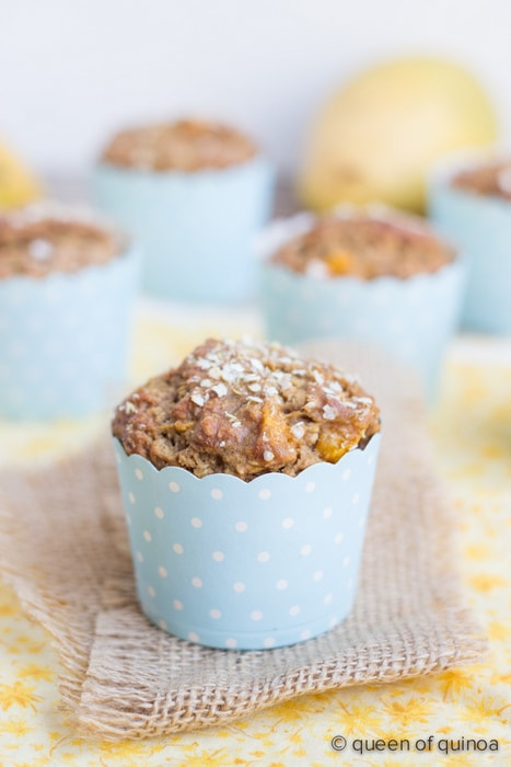 Tropical Mango-Coconut Muffins Single Queen of Quinoa