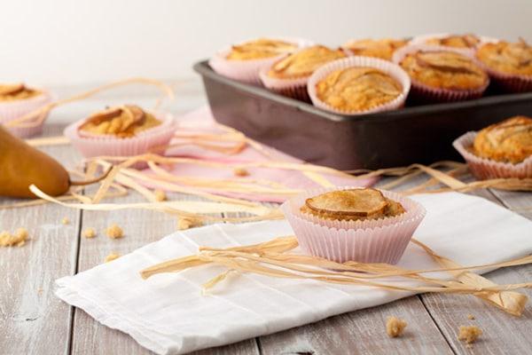 Vanilla-Pear-Muffins-Healthful-Pursuit