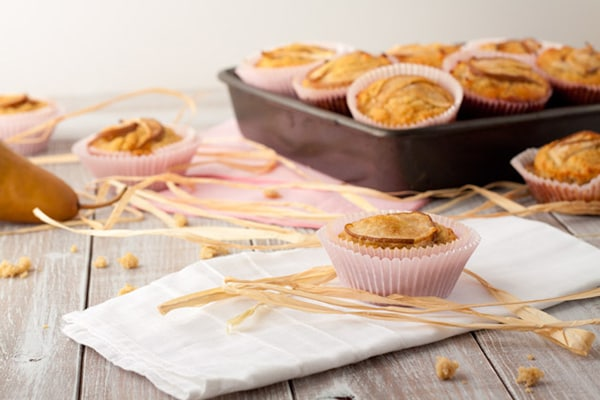 Vanilla-Pear-Muffins-Healthful-Pursuit