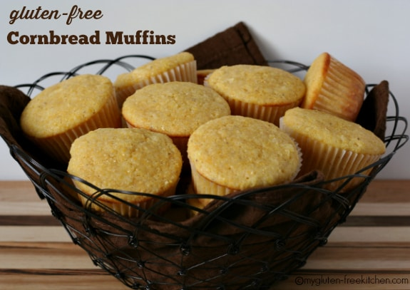 Gluten-free Cornbread Muffins from My Gluten-Free Kitchen