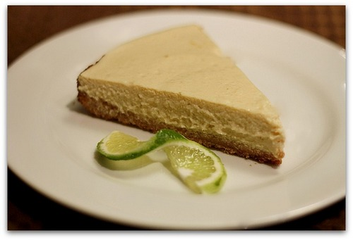 Key Lime Cheesecake from Delectably Free