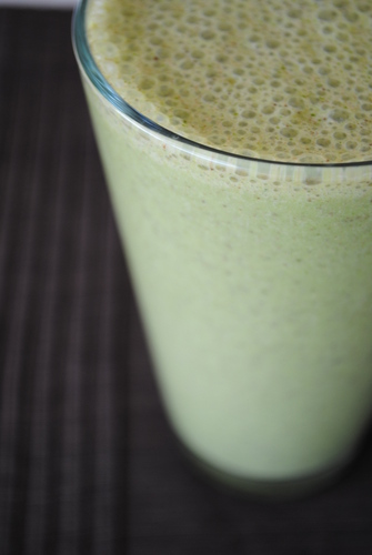 Mint Chocolate Chip Smoothie from Hunter's Lyonesse
