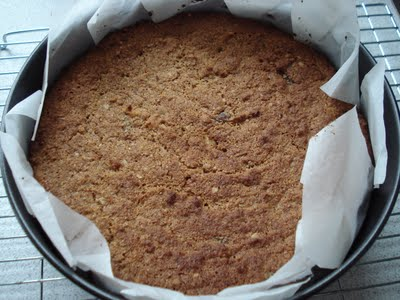 Carrot Cake from Gluten Free SCD and Veggie