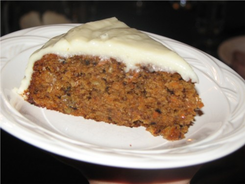 Carrot Cake Slice from Wheat Free Meat Free
