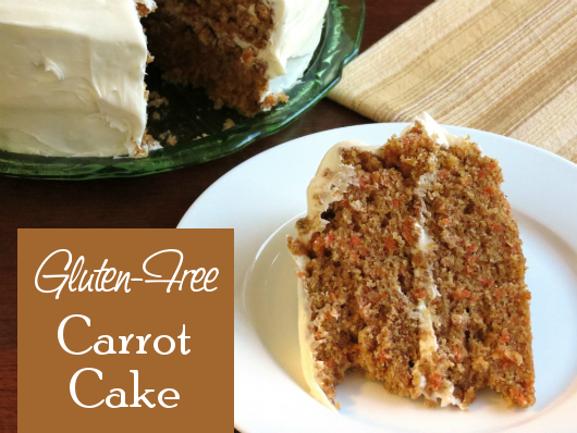 Carrot Cake from The Gluten-Free Homemaker