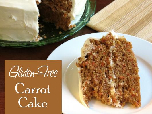 Carrot Cake from The Gluten-Free Homemaker