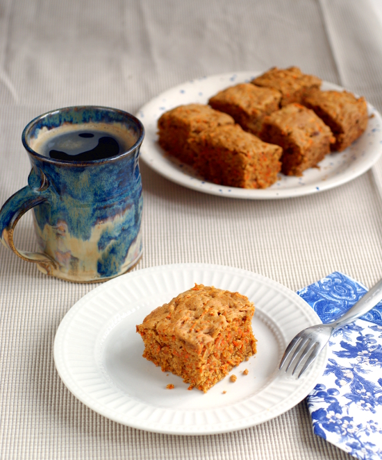 Breakfast Carrot Cake from The Essential Gluten-Free Baking Guide via Ricki Heller