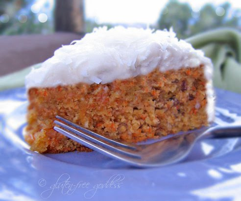 Gluten-Free Carrot Cake with Cream Cheese Icing from Gluten-Free ...