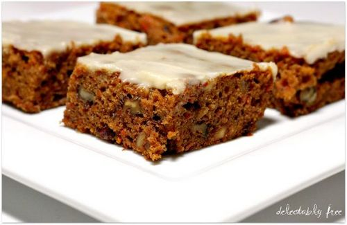 Gluten-Free Carrot Cake from Delectably Free