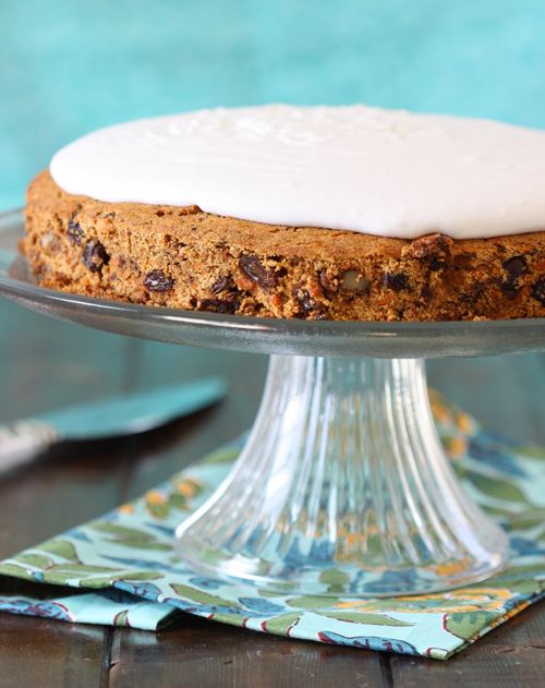 Grain-Free Carrot Cake from The Spunky Coconut
