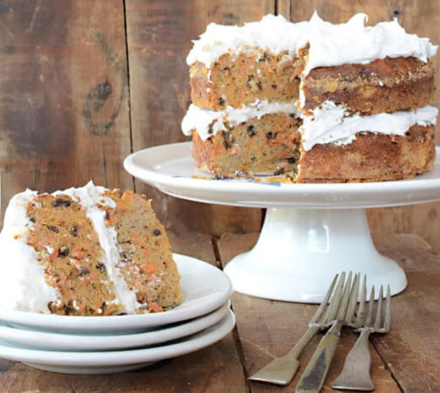 Gluten-Free Nut-Free Paleo Carrot Cake