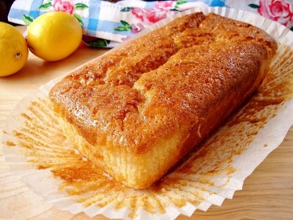 Gluten-Free and Vegan Lemon Drizzle Cake from Gluten-Free SCD and Veggie