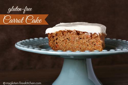 Gluten-free Carrot Cake from My Gluten-Free Kitchen