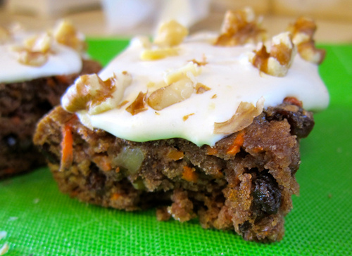Carrot Cake from Simply Living Healthy