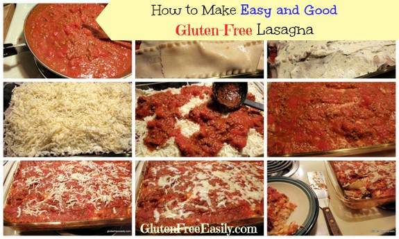 How to Make Easy and Good Gluten-Free Lasagna Gluten Free Easily Tutorial