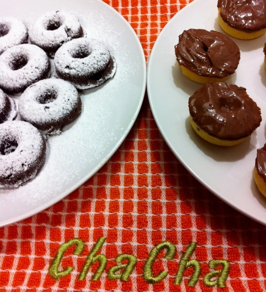 Mini Donuts ChaCha's Gluten-Free Kitchen