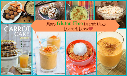 """So many amazing Gluten-Free Carrot Cake recipes. You're going to find one--or several!--that bring out your """"inner bunny""""!  [from GlutenFreeEasily.com]"""