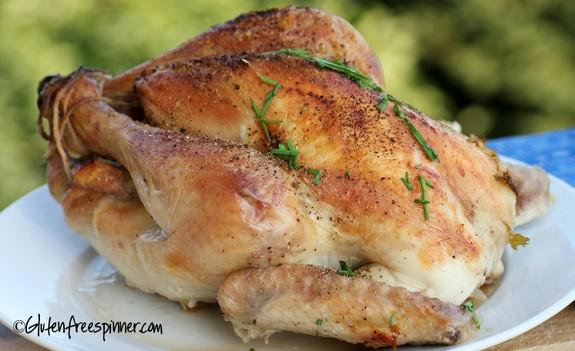 Perfect Roast Chicken Gluten Free Spinner