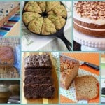 Gluten-free zucchini dessert recipes! You definitely have to have your gluten-free zucchini bread (it's the best!), but there's also cake, muffins, brownies, smoothies, and much more. (photo)