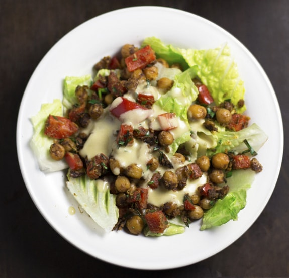 Chickpea Salad from Worth Cooking