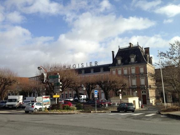 Courvoisier Headquarters in Jarnac