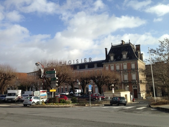 Courvoisier Headquarters in Jarnac
