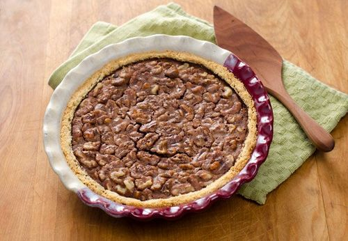 Chocolate Walnut Pecan Pie from Cook Eat Paleo [featured on AllGlutenFreeDesserts.com]