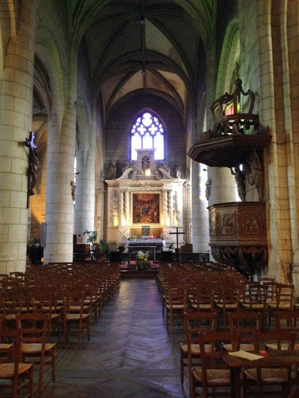 Church in Angouleme France