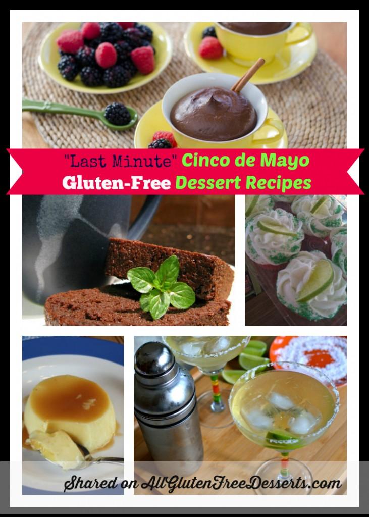 Cinco de Mayo Last Minute Desserts Collage