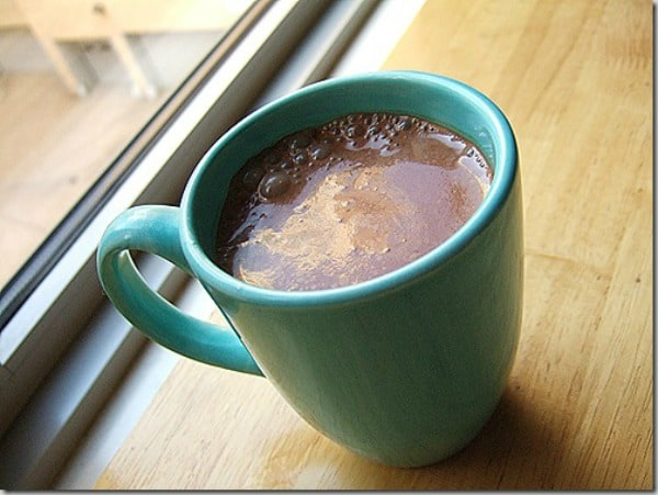 Spicy Hot Chocolate. One of several delicious last-minute gluten-free Cinco de Mayo desserts. [featured on GlutenFreeEasily.com]