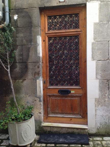 Entrance to Gluten-Free City Gite Jarnac France