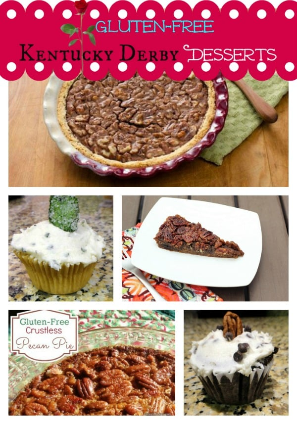 What says Kentucky Derby like Derby and Pecan Pies? And maybe some special Derby cupcakes! A run for the roses and super special desserts!