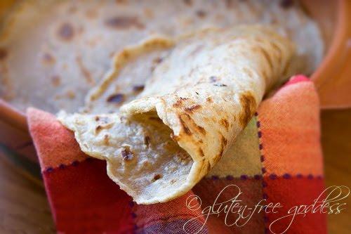 Gluten-Free Millet-Buckwheat Wraps Gluten-Free Goddess