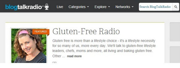 Gluten-Free Voice Jules Shepard