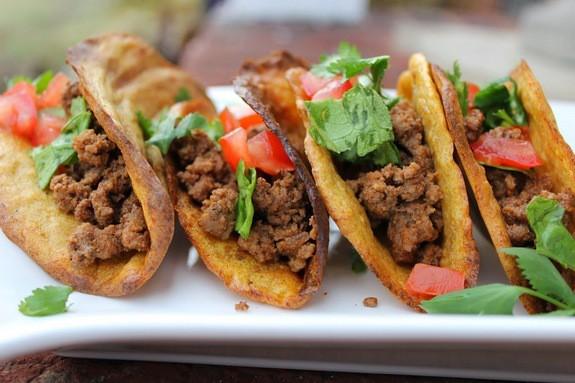 Grain-Free Taco Shells from Predominantly Paleo