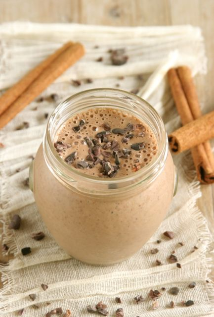 Mexican Chocolate Banana Smoothie Daily Bites
