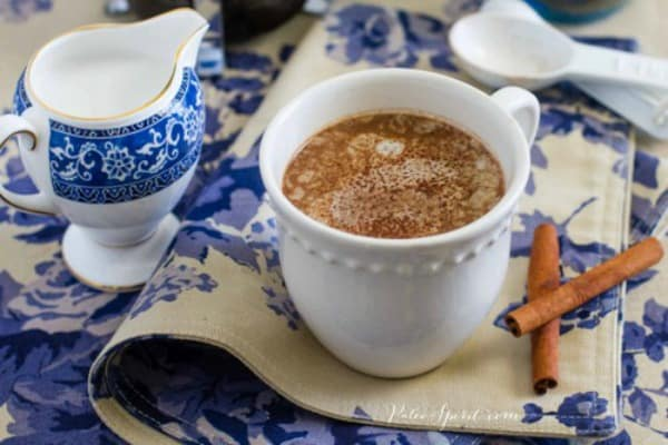 Mexican Hot Chocolate. One of several delicious last-minute gluten-free Cinco de Mayo desserts. [featured on GlutenFreeEasily.com]