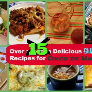 You're going to find at least one, maybe more, delicious Cinco de Mayo recipes that you want to make right now in this gluten-free Cinco de Mayo recipe roundup!