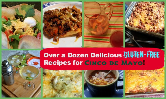 Gluten-Free Mexican Recipes Cinco de Mayo Collage
