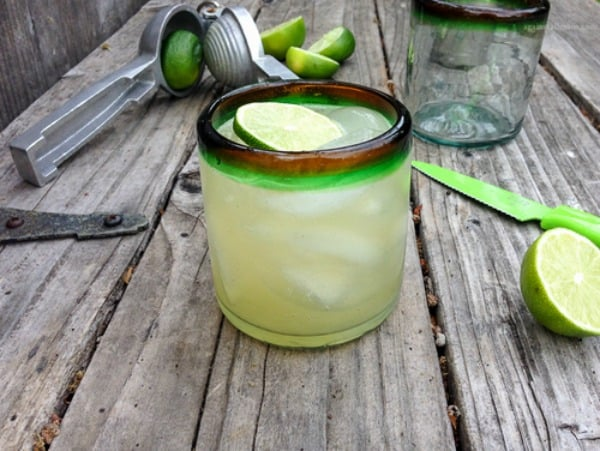 Paleo Margaritas. One of several delicious last-minute gluten-free Cinco de Mayo desserts. [featured on GlutenFreeEasily.com]
