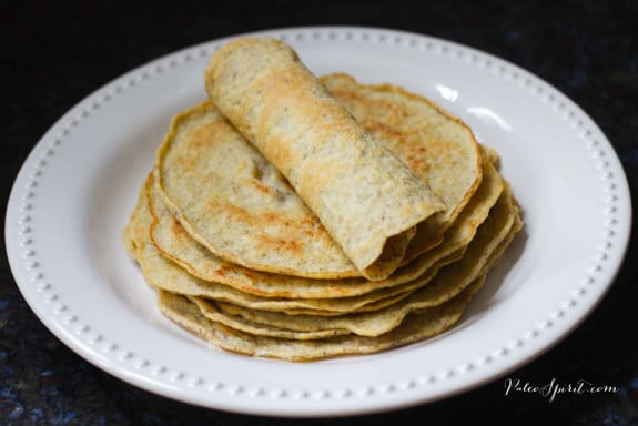 Paleo Tortillas from Paleo Spirit