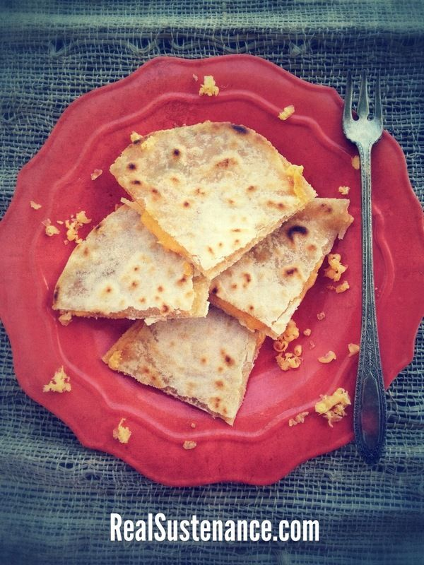 Quinoa Flour Tortillas from Brittany Angell